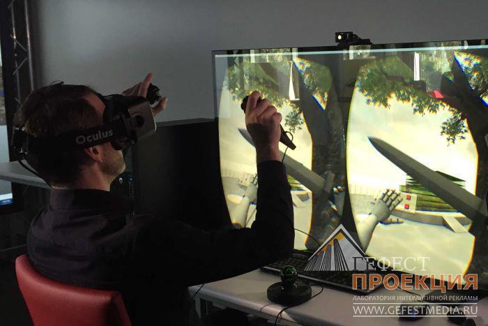Аренда очков виртуальной реальности в новосибирске кронштейн пульта к квадрокоптеру мавик айр