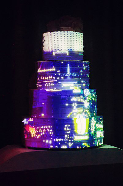 3d mapping cake